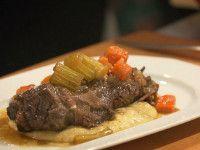 Côtes levées de bœuf braisées - Recettes - À la di Stasio