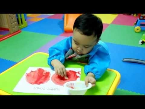 BELAJAR MELUKIS DONAT DENGAN CAT AIR (STRAWBERRY JAM DONUT PLAY) - YouTube