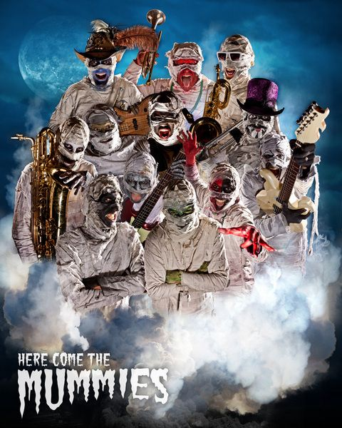 Check out Here Come The Mummies on ReverbNation
