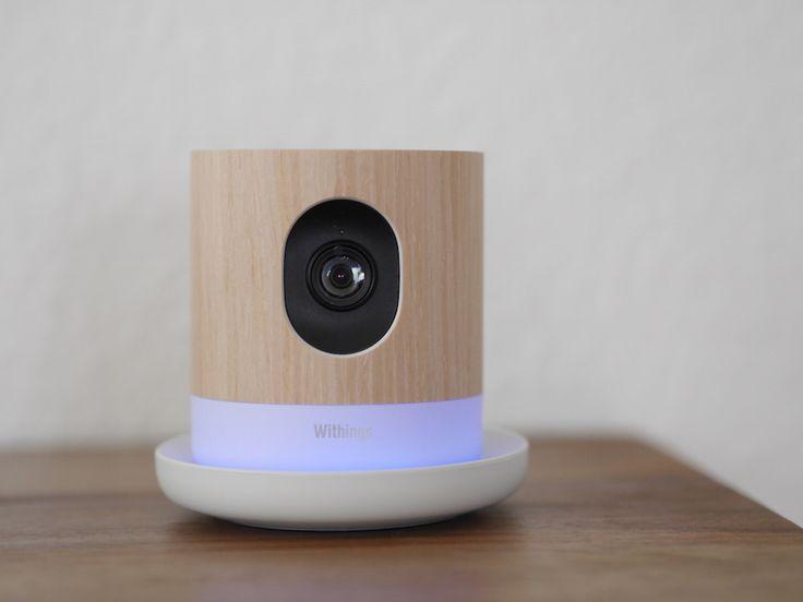 Withings Home im Test: WLAN-Überwachungskamera mit Luftqualitätssensor und Babyphone-Funktion. Unser Testbericht: http://www.housecontrollers.de/hausueberwachung/ueberwachungskamera-withings-home-im-test/