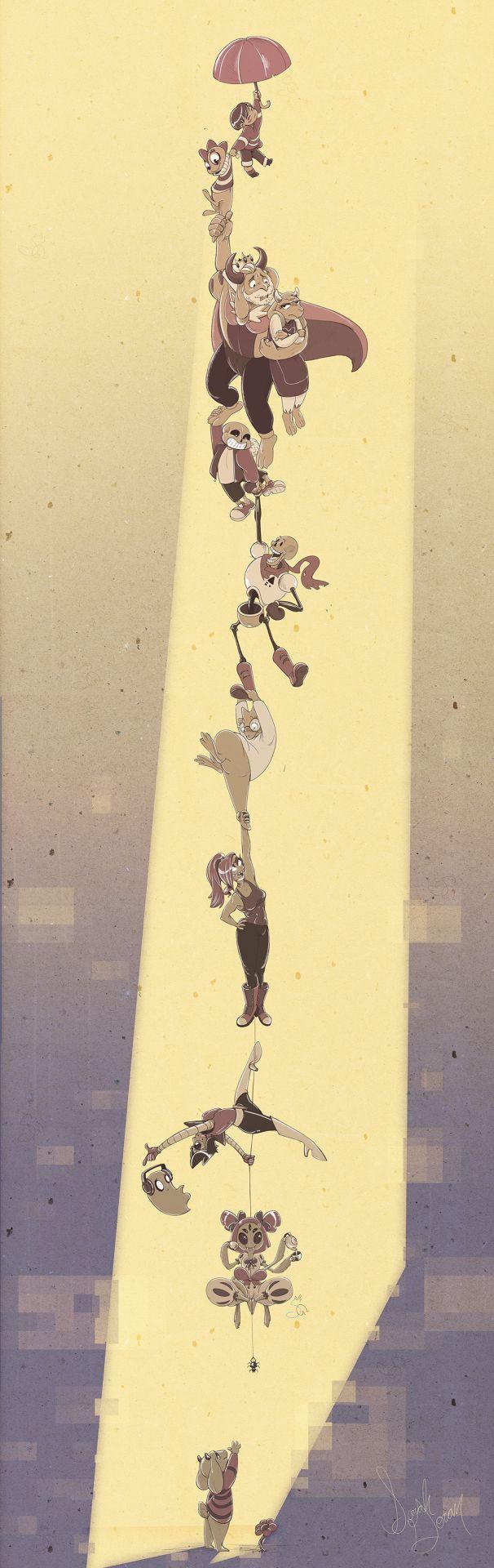 Asriel, no....don't leave him