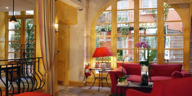 Hotel Millesime, Paris. Its vibrant approach is certainly different to many other more formal hotels in this area, and it won't ruin your waller either. #hotel #bargain #travel #france #paris