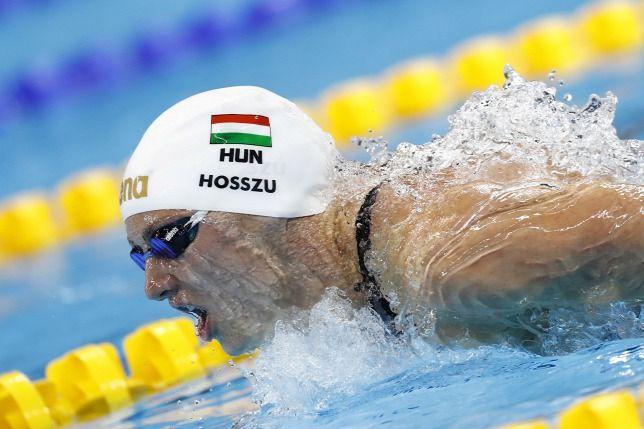 Olimpia 2016: 400 méteres vegyes úszásban 1.  Hosszú Katinka - Hungary