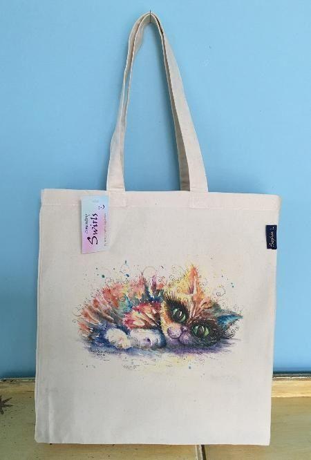 Kitten bag www.countryswirls.com