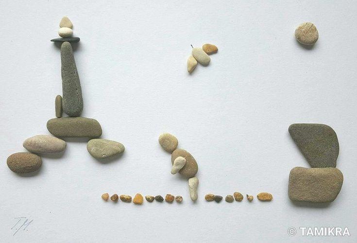 Urlaub ❤#kieselkunst #steine #kieselsteine #kiesel #stones #pebbles #pebblesart #tamikra #selfmade #kreativ #creativ #Familie #Geschenk #Steinkunst #artwork #artoftheday #art #kunst #Ostsee #Rhein #urlaub #warnemünde #baltic