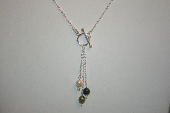 Handmade 'Nicole' Swarovski Crystal Pearl by LHadyoonJewellery, £28.00