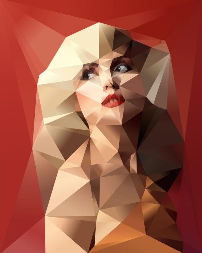 Blondie Cubism