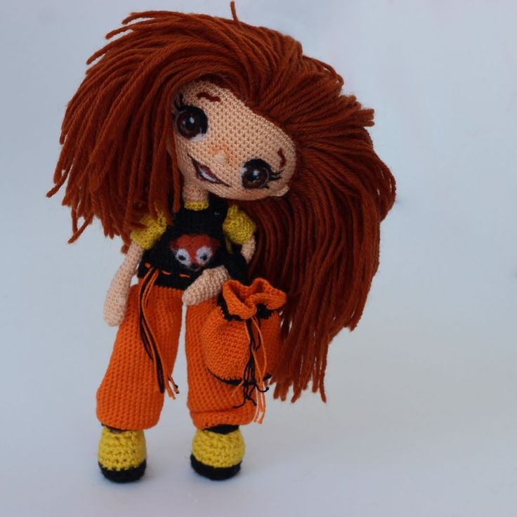 #crochet #handmade #instacrochet #crochetdoll #вязаннаякукла #кукларучнойработы…