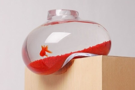 Acquario boccia surreale per pesci rossi Bubble Tank