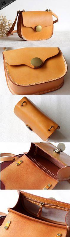 Handmade Leather bag for women leather shoulder bag crossbody