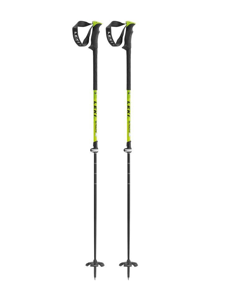 Edge 2 Ultralite SL Leki : Bâtons ski randonnée : Snowleader