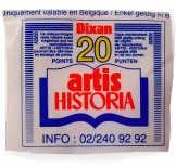 Points Artis Historia pour recevoir des images à coller