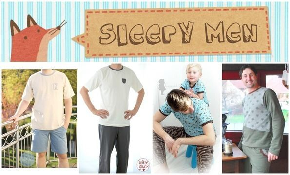 Schöne,+einfache+Anleitung+(inkl.+Schnittmuster+zum+Ausdrucken)!+Endlich+mal+etwas+für+Männer+:) In+der+Anleitung+wird+erklärt,+wie+du+das+Schnittmuster+entsprechend+der+jeweiligen+Figur+abändern+kannst! Ob+Schlafanzug,+Tagesanzug,+kurz/lang+oder+Daily-Shirt!+Alles+ist+möglich+:) Sleepy+(XS-XXL): *folgende+Anleitungen+sind+enthalten:+Shirt,+Hose,+Säumen,+Bündchen,+Bündchen+mit+Kordel,+Taschen+ *Schnittmuster+Sleepy+Hose+(mit+Kurzversion) *Schnittmuster+Shirt+als+Slim-+und+Basic-Ve...