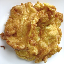 Steamed rice, Golden brown and Omelet on Pinterest