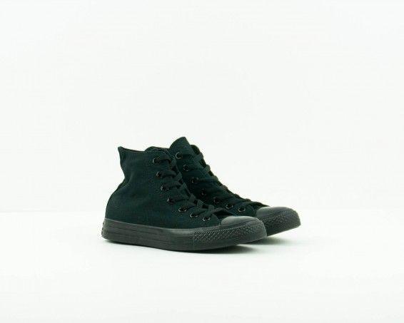 Zapatilla botín Converse negro