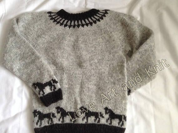 Ready to ship, Icelandic sweater, lopapeysa, Icelandic wool, unisex adult clothing, adult sweater, lopi, Icelandic jumper, jumper, wool