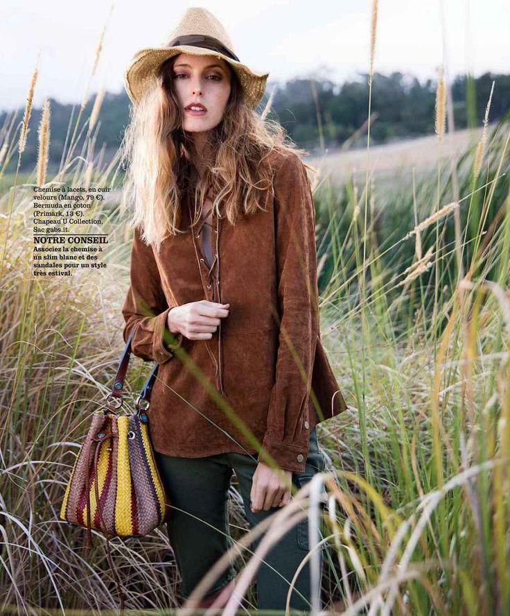 Gabs on Italian magazine Femina