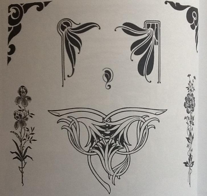 art nouveau design motifs pictures to pin on pinterest pinsdaddy. Black Bedroom Furniture Sets. Home Design Ideas