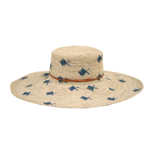 Embrace your inner angler with Yestadt Millinery's extra floppy Omega Fish. Fashioned from soft straw and finished with a delicate leather band, it's a stylish way to cap off an outfit, while Bait, comprised of waxed Shantung straw, is sure to lure approving looks.  www.yestadtmillinery.com