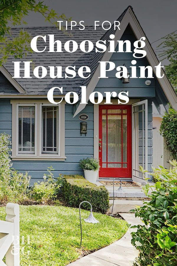 6 Must Know Tips For Choosing The Best Exterior Paint Colors Best Exterior Paint Outdoor House Paint Exterior Paint Colors For House
