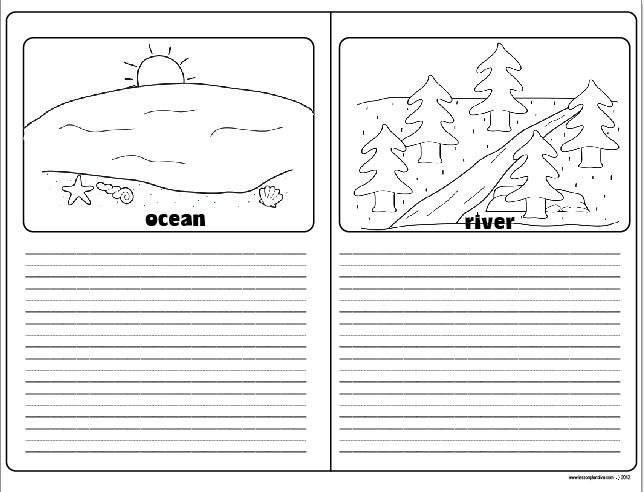 The Lesson Plan Diva | Landforms and bodies of water ...