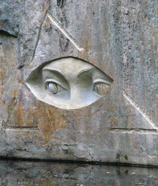The Eyes.Street Art