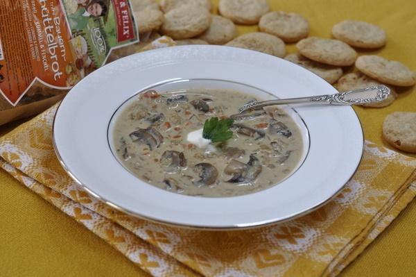 Zuppa di Orzo/Mushroom Barley Soup: Barley Soup