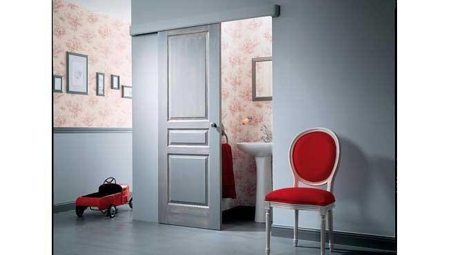 7 best Porte coulissante lu0027appeler instalation images on Pinterest