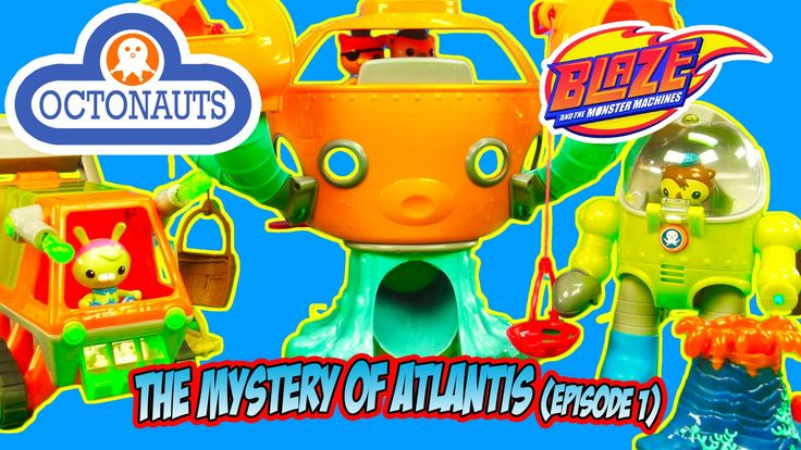 THE OCTONAUTS PAW PATROL AVENGERS TOY ADVENTURE - The Mystery of Atlanti...