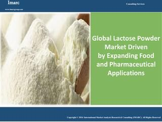 Global Lactose Powder Market Reached Volumes Worth Around 0.8 Million Tons in 2015  Lactose powder is majorly consumed by the food and beverage sector. It is used in instant powdered foods, dairy and soft drinks, bakery products and confectionery products. According to IMARC Group, the global lactose powder market was worth around 0.8 Million Tons in 2015. Browse our latest pressrelease: http://www.imarcgroup.com/global-lactose-powder-market