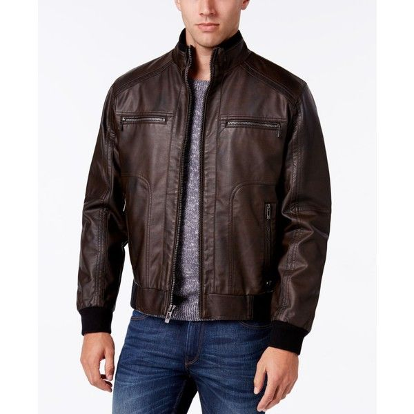 25 Best Ideas About Mens Faux Leather Jacket On Pinterest