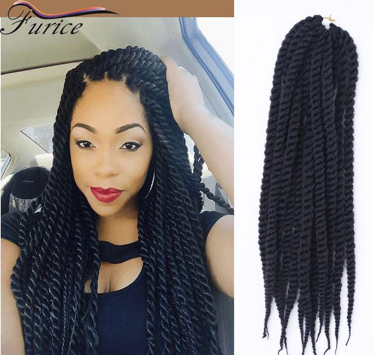 havana mambo twist cheap hair bundles extensions 12-24 inch 2X havana crochet braids bulk extension 12 Strands/Piece extension