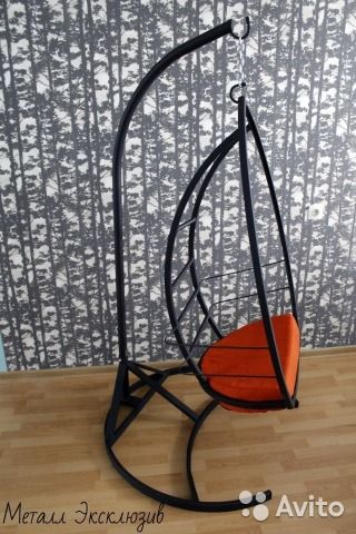 Подвесное кресло Black Standard— фотография №7