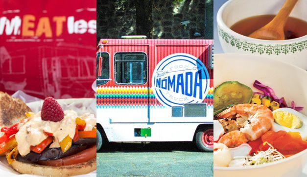 Food trucks in Mexico City. Cinco food trucks que no te harn romper la dieta.