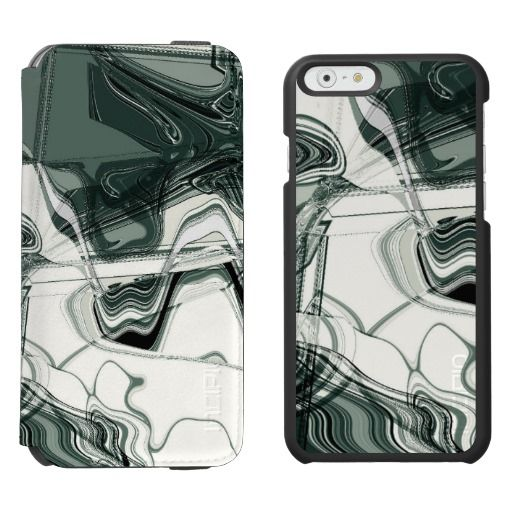 Land Formations Abstract Art / Incipio Watson™ iPhone 6, 2-in-1 Wallet Case + Interior Case! #fomadesign