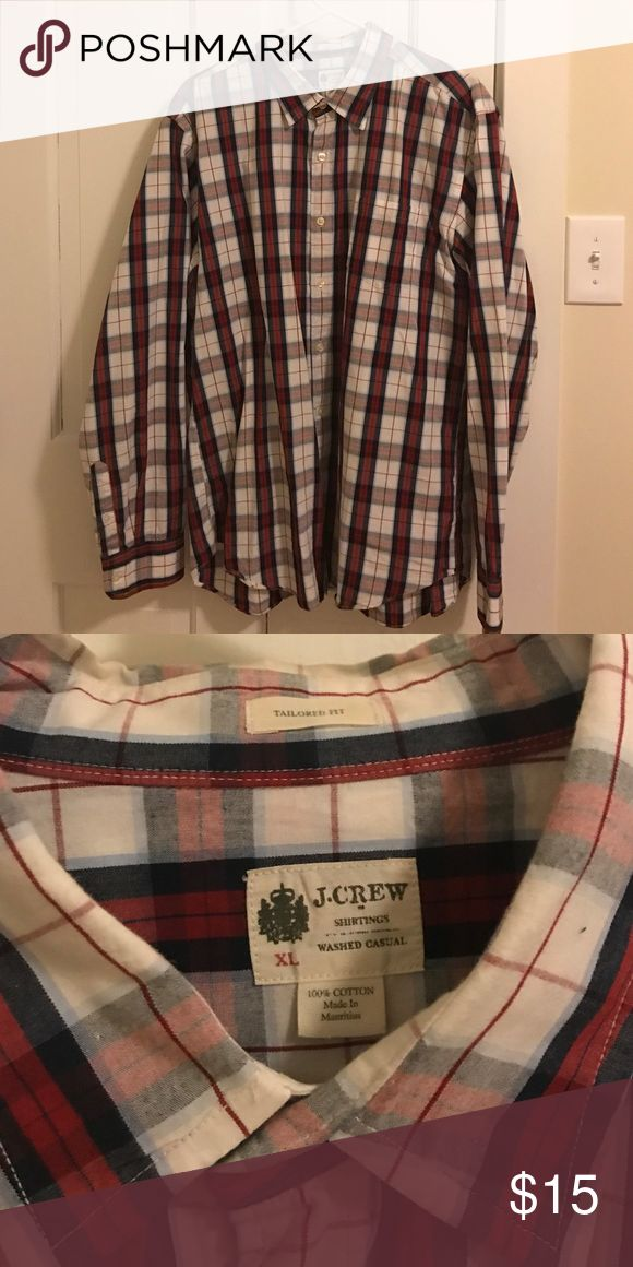 JCrew black, red and white button up I am cleaning out my husbands closet. He has more than 50 shirts from JCrew that we are going through. All are XLARGE and in great condition. Please consider bundling to save. Please msg for more info. J. Crew Shirts Casual Button Down Shirts