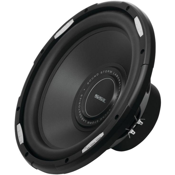SOUND STORM GSW12D GSW12 inch Dual Voice Coil (4 Ohm) 2000-watt Subwoofer