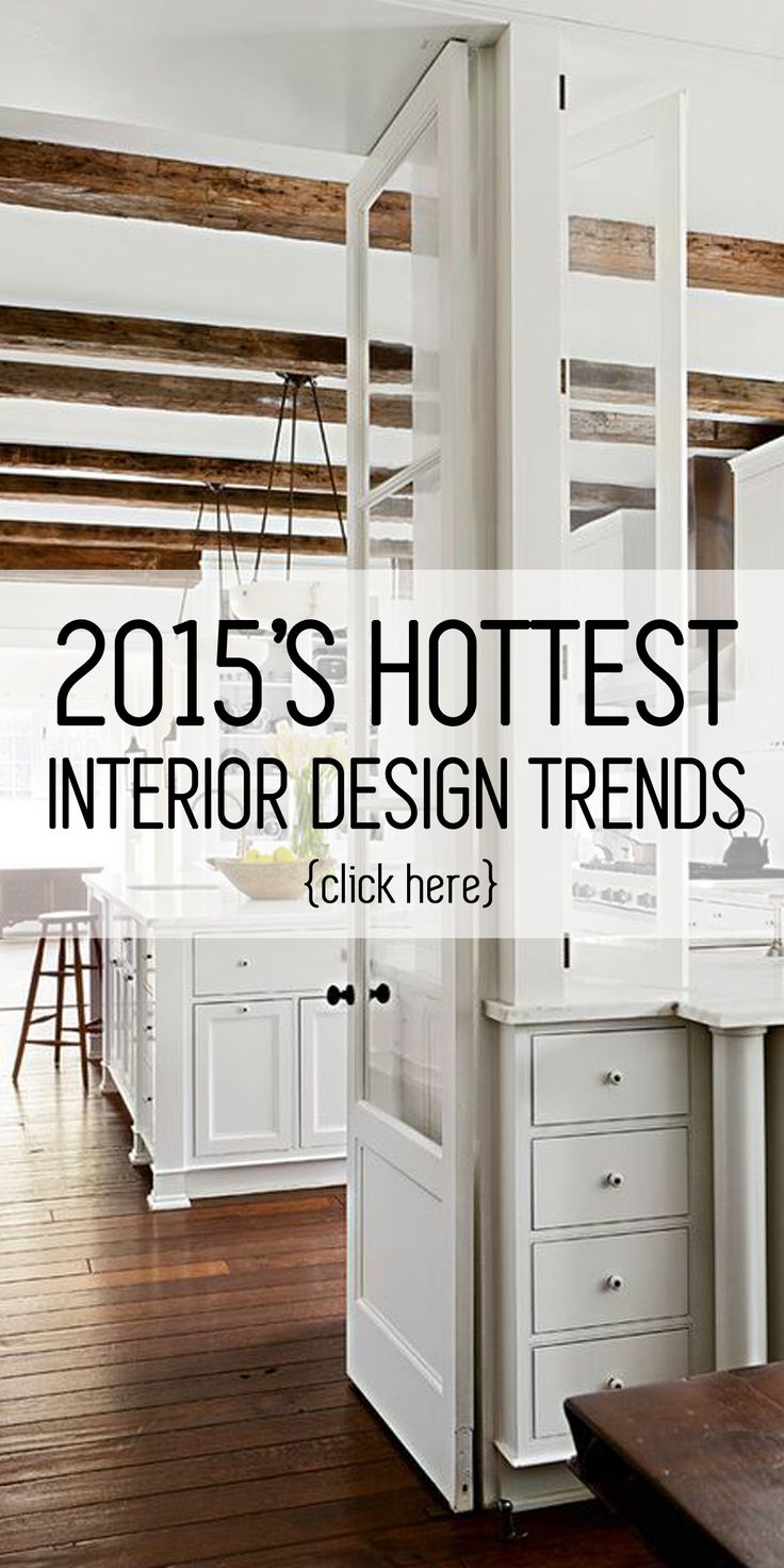 Need some interior design inspiration for the new year? Check out these hot trends!