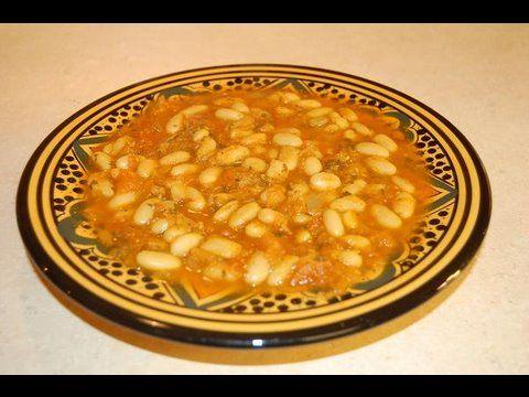 Loubia - Moroccan White Beans