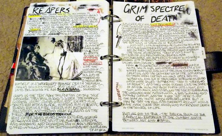 I love all those journal replicas... Would love to do a Winchester-journal replica too someday...