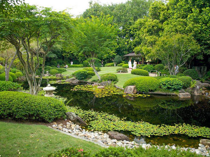Head out to Mt Coot-tha and enjoy a walk through the Japanese Garden at Brisbane Botanic Gardens.