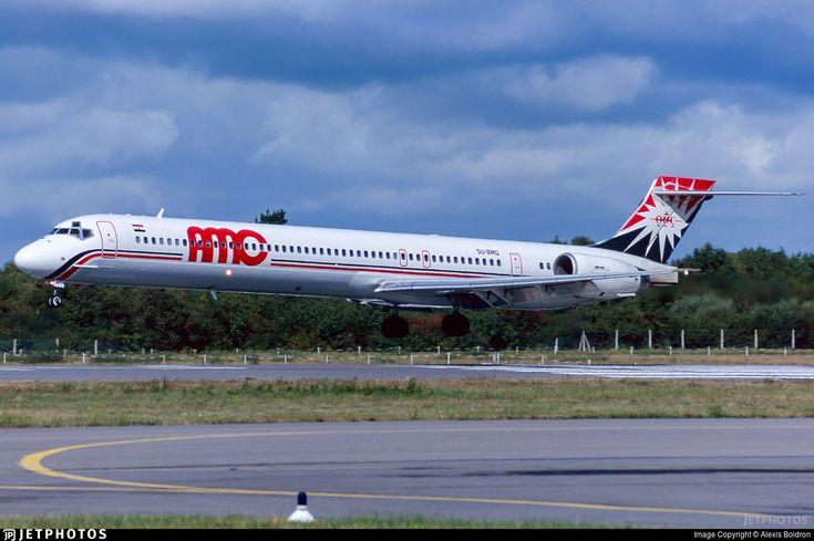 Photo of SU-BMQ - McDonnell Douglas MD-90-30 - AMC Airlines
