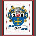 Miller Family Crest Canvas Print | Zazzle