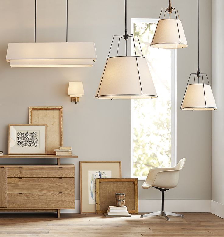 Our Conical Drum Pendant Makes A Big Statement In Spaces Large And Small.  Its Lofty