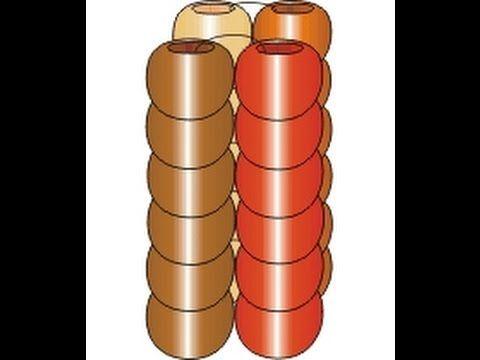 Twisted Tubular Herringbone Weaving. Beading Cartoon - YouTube