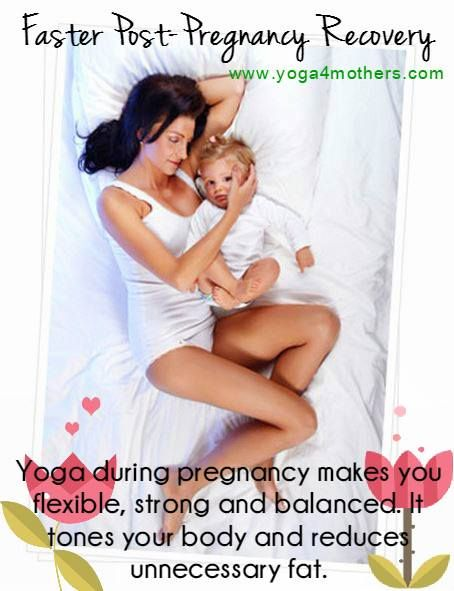 Yoga during pregnancy also helps keep your body strong and supple so you heal faster and (with the help of Beautiful Mom, Healthy Baby Postnatal Videos) you can regain your flat tummy and get back into your favorite pair of jeans soon after childbirth!