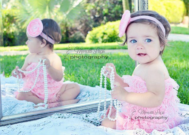 Baby Girl First Birthday Photoshoot