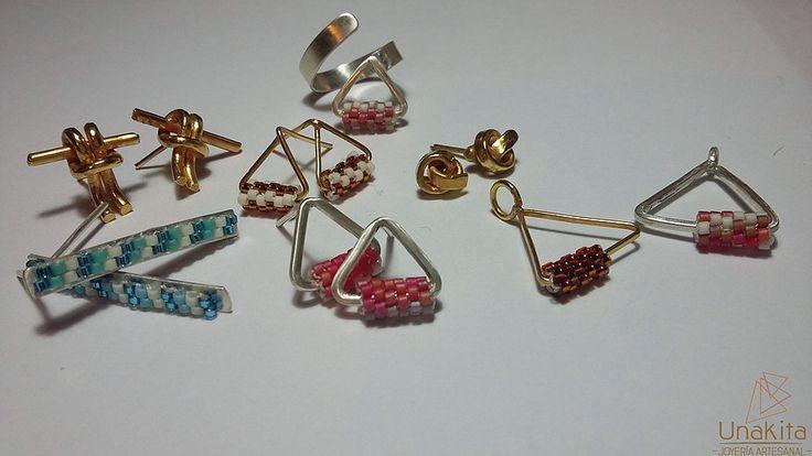 joyeria artesanal, creando joyas unicas para ti que eres unica. marca tu look con un toque de distincion, elegancia y estilo.