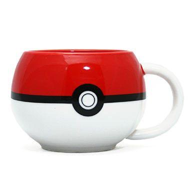 ポケモン モンスターボール マグカップ  海外で発売されたポケモンのオフィシャルグッズです。 モンスターボールのモチーフにした12オンス(約360ml)のキュートなマグカップ。 スープに紅茶、カフェオレから日本茶まで、なんでもござれ!!  サイズ:高さ:約8cm 幅:約8.5cn~10.5cm 内容量:12オンス(約360ml)