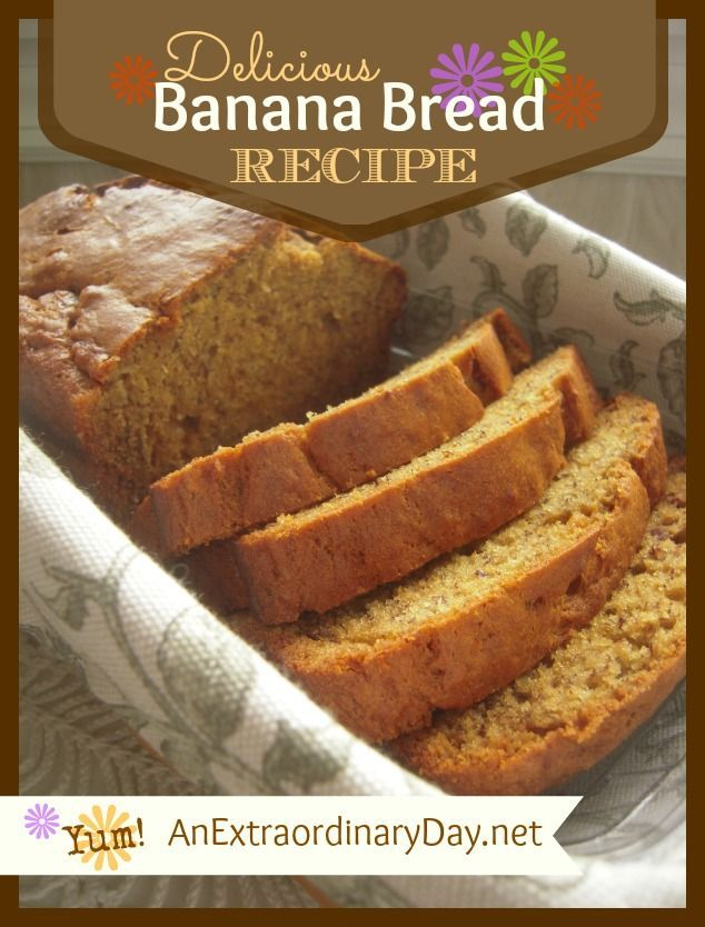 I've tried a lot of banana bread recipes, but this one is the best banana bread recipe for texture and flavor.